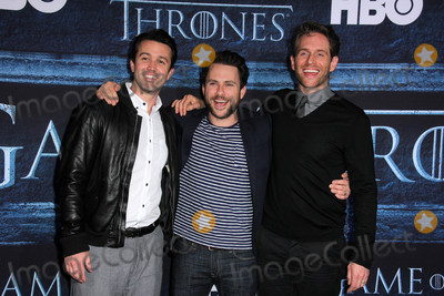 Charlie Day Photo - Rob McElhenney Charlie Day Glenn Howertonat the Game of Thrones Sixth Season Premiere Dolby Theater Hollywood CA 04-10-16