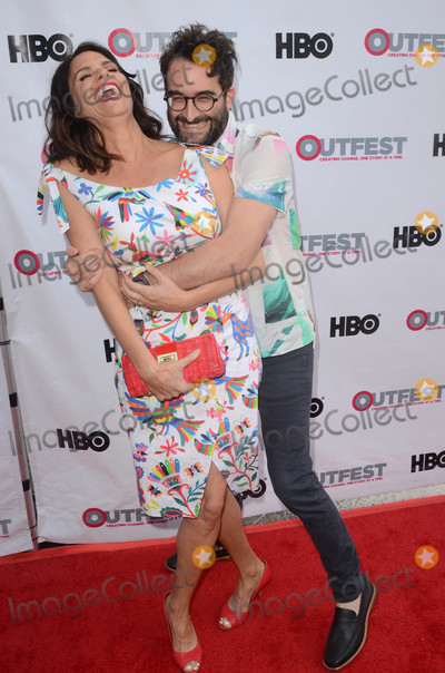 Amy Landecker Photo - Amy Landecker Jay Duplassat the Transparent Season 4 Sneak Peek at Outfest LGBT Film Festival DGA Los Angeles CA 07-15-17