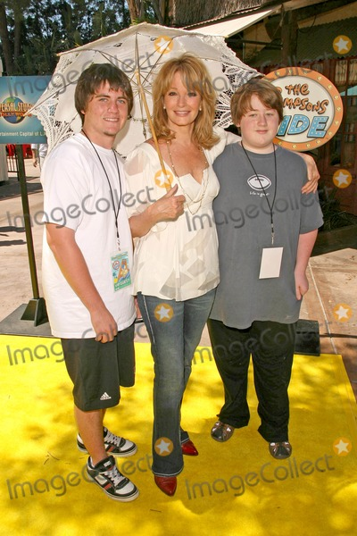 Deidre Hall Photo - Deidre Hall and sonsat the Grand Opening of The Simpsons Ride Universal Studios Hollywood Universal City CA 05-17-08