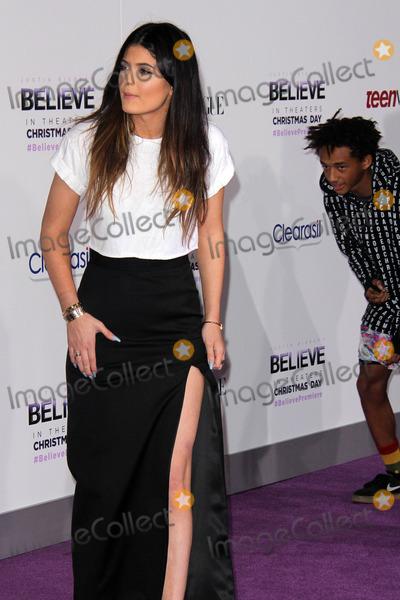 Kylie Jenner Photo - Kylie Jenner Jaden Smithat the Justin Biebers Believe Premiere Regal Cinemas Los Angeles CA 12-18-13