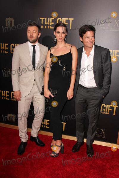 Joel Edgerton Photo - Joel Edgerton Rebecca Hall Jason Batemanat The Gift World Premiere Regal Cinemas Los Angeles CA 07-30-15