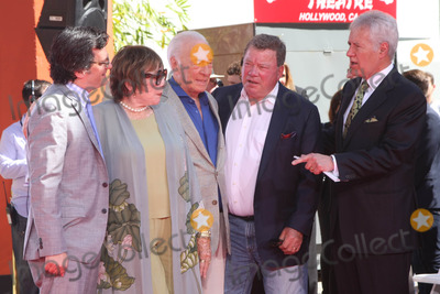 Alex Trebek Photo - Ben Mankiewicz Shirley MacLaine Christopher Plummer William Shatner Alex Trebekat the Christopher Plummer Hand and Foot Print Ceremony TCL Chinese Theater Hollywood CA 03-27-15