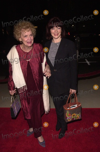 Gloria Stuart Photo -  Gloria Stuart and Francis Fisher at the premiere of Fox Searchlights Quills in Beverly Hills 11-20-00