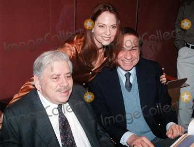 Leslie Ann Warren Photo -  Leslie Ann Warren Richard Sherman and Robert Sherman at the American Cinematheque special screening of the restored Disney classic THE HAPPIEST MILLIONAIRE the last live action film Walt Disney personally worked on Egyptian Theater 03-15-00