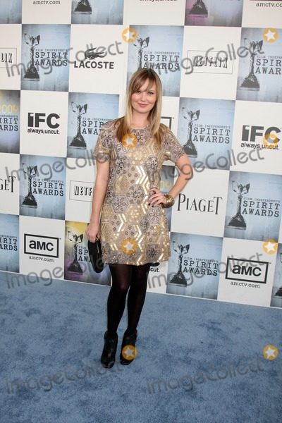 Sara Simmonds Photo - Sara Simmonds  arriving at the  Film Indpendents  24th Annual Spirit Awards on the beach in Santa Monica CA  onFebruary 21 2009