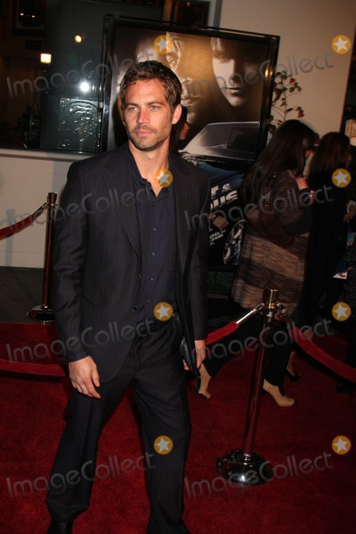 Paul Walker Photo - Paul Walker  arriving at the Fast  Furious Premiere at  the Universal Ampitheater  in Los Angeles  CA on  March 12 2009