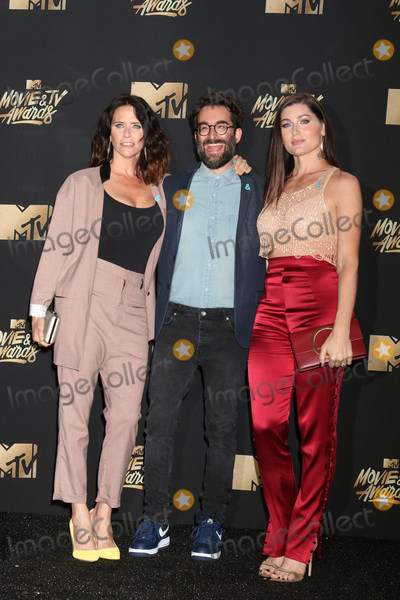 Amy Landecker Photo - LOS ANGELES - MAY 7  Amy Landecker Jay Duplass Trace Lysette at the MTV Movie and Television Awards on the Shrine Auditorium on May 7 2017 in Los Angeles CA