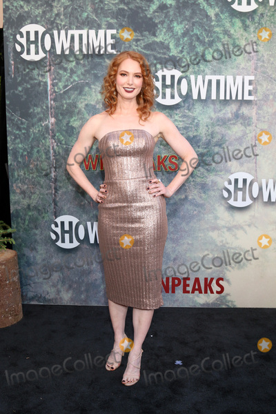 Alicia Witt Photo - LOS ANGELES - MAY 19  Alicia Witt at the Twin Peaks Premiere Screening at The Theater at Ace Hotel on May 19 2017 in Los Angeles CA