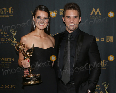 Casey Moss Photo - LOS ANGELES - MAY 1  True OBrien Casey Moss at the 43rd Daytime Emmy Awards at the Westin Bonaventure Hotel  on May 1 2016 in Los Angeles CA
