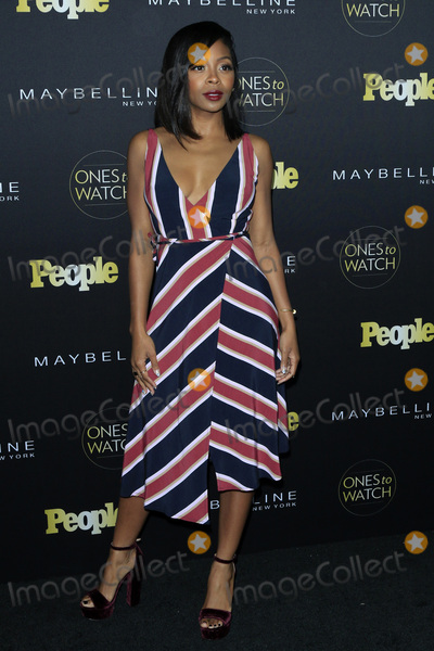 Bresha Webb Photo - LOS ANGELES - OCT 13  Bresha Webb at the Peoples One To Watch Party at EP  LP on October 13 2016 in Los Angeles CA