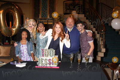 Peyton List Photo - LOS ANGELES - FEB 12  Skai Jackson Peyton List Karan Brar Debby Ryan Kevin Chamberlin Cameron Boyce at the Disney Channels Jessie Celebrates 100 Episodes at a Hollywood Center Studios on February 12 2015 in Los Angeles CA