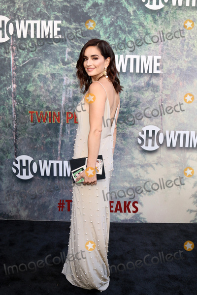 Ana De la reguera Photo - LOS ANGELES - MAY 19  Ana de la Reguera at the Twin Peaks Premiere Screening at The Theater at Ace Hotel on May 19 2017 in Los Angeles CA