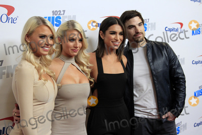 Ashley Iaconetti Photo - LOS ANGELES - DEC 2  Emily Ferguson Haley Ferguson Ashley Iaconetti Jared Haibon at the 1027 KIIS FMs Jingle Ball 2016 at Staples Center on December 2 2016 in Los Angeles CA
