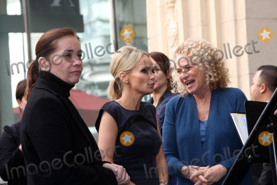 Ana Martinez Photo - LOS ANGELES - DEC 3  Ana Martinez Kristin Chenoweth Carole King at the Hollywood Walk of Fame Star Ceremony for Carole King at Hollywood Blvd on December 3 2012 in Los Angeles CA