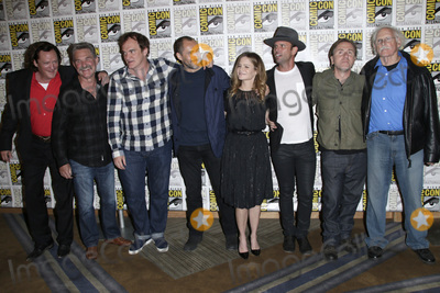 Tim Roth Photo - SAN DIEGO - JUL 11  Michael Madsen and Kurt Russell Quentin Tarantino and actors Demian Bichir Jennifer Jason Leigh Walton Goggins Tim Roth Bruce Dern at the The Hateful Eight Press Room at the Hilton Bayfront on July 11 2015 in San Diego CA