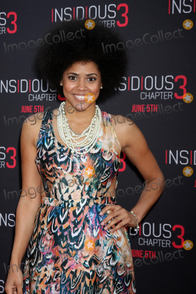 Amaris Davidson Photo - LOS ANGELES - JUN 4  Amaris Davidson at the Insidious Chapter 3 Premiere at the TCL Chinese Theater on June 4 2015 in Los Angeles CA