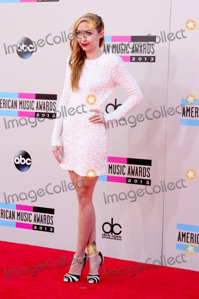 Brandi Cyrus Photo - LOS ANGELES - NOV 24  Brandi Cyrus at the 2013 American Music Awards Arrivals at Nokia Theater on November 24 2013 in Los Angeles CA
