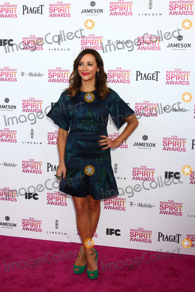 Rashida Jones Photo - LOS ANGELES - FEB 23  Rashida Jones attends the 2013 Film Independent Spirit Awards at the Tent on the Beach on February 23 2013 in Santa Monica CA