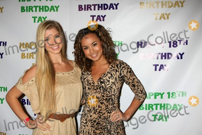 Allie Deberry Photo - LOS ANGELES - OCT 21  Allie deBerry Savannah Jayde arriving at Taylor Spreitlers 18th Birthday Party at the Crimson on October 21 2011 in Los Angeles CA