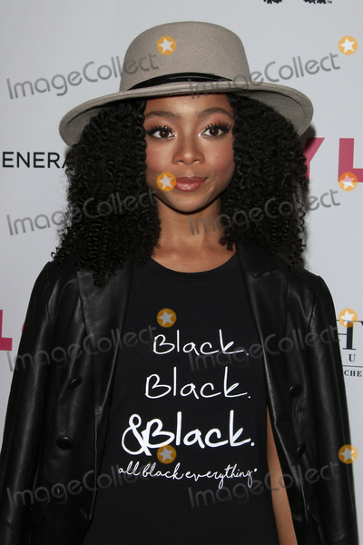 Skai Jackson Photo - LOS ANGELES - MAY 12  Skai Jackson at the NYLON Young Hollywood May Issue Event at HYDE Sunset on May 12 2016 in Los Angeles CA