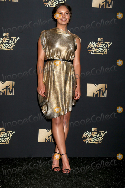 Alisha Boe Photo - LOS ANGELES - MAY 7  Alisha Boe at the MTV Movie and Television Awards on the Shrine Auditorium on May 7 2017 in Los Angeles CA