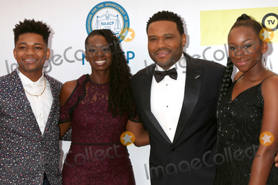 Anthony Anderson Photo - LOS ANGELES - FEB 11  Nathan Anderson Alvina Stewart Anthony Anderson Kyra Anderson at the 48th NAACP Image Awards Arrivals at Pasadena Civic Auditorium on February 11 2017 in Pasadena CA