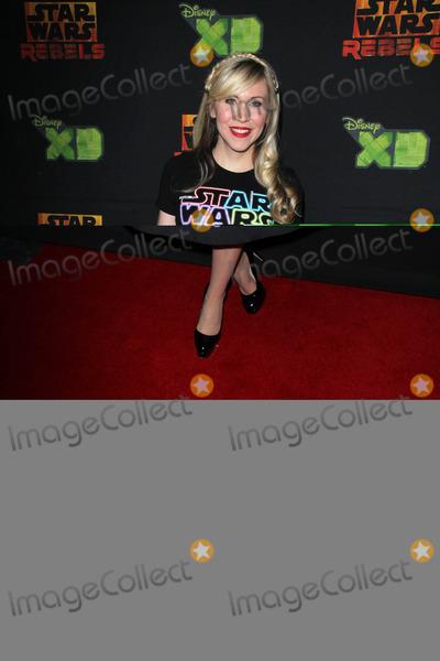 Ashley Eckstein Photo - LOS ANGELES - FEB 18  Ashley Eckstein at the Global Premiere of Star Wars Rebels Season 2 at the Star Wars Celebration Anaheim Convention Center on April 18 2015 in Anaheim CA
