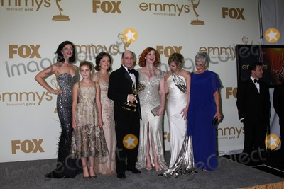 Cara Buono Photo - LOS ANGELES - SEP 18  Jessica Par Kiernan Shipka Elisabeth Moss Matthew Weiner Christina Hendricks  Cara Buono in the Press Room at the 63rd Primetime Emmy Awards at Nokia Theater on September 18 2011 in Los Angeles CA