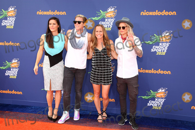 Abby Wambach Photo - SAN DIEGO - JUL 16  Ali Krieger Abby Wambach Christie Rampone Ashlyn Harris at the 2015 Kids Choice Sports at the UCLAs Pauley Pavilion on July 16 2015 in Westwood CA