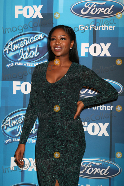 Amber Holcomb Photo - LOS ANGELES - APR 7  Amber Holcomb at the American Idol FINALE Arrivals at the Dolby Theater on April 7 2016 in Los Angeles CA