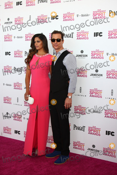 Camila Alves Photo - LOS ANGELES - FEB 23  Camila Alves Matthew McConaughey attends the 2013 Film Independent Spirit Awards at the Tent on the Beach on February 23 2013 in Santa Monica CA