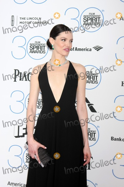 Alizee Gaillard Photo - LOS ANGELES - FEB 21  Alizee Gaillard at the 30th Film Independent Spirit Awards at a tent on the beach on February 21 2015 in Santa Monica CA