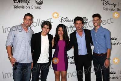 Daren Kagasoff Photo - LOS ANGELES - JUL 27  Greg Finley Michael Grant Cierra Ramirez Daren Kagasoff Ken Baumann arrives at the ABC TCA Party Summer 2012 at Beverly Hilton Hotel on July 27 2012 in Beverly Hills CA