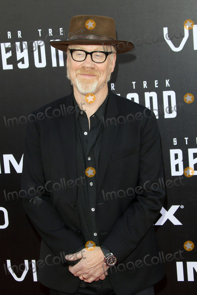 Adam Savage Photo - LOS ANGELES - JUL 20  Adam Savage at the Star Trek Beyond World Premiere at the Embarcadero Marina on July 20 2016 in San Diego CA