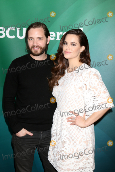 Aaron Stanford Photo - LOS ANGELES - APR 1  Aaron Stanford Emily Hampshire at the NBC Universal Summer Press Day 2016 at the Four Seasons Hotel on April 1 2016 in Westlake Village CA