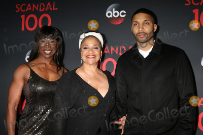 Norm Nixon Photo - LOS ANGELES - APR 8  Lauren Anderson Debbie Allen Norm Nixon Jr at the Scandal 100th Show Party at Fig  Olive Resturant on April 8 2017 in West Hollywood CA