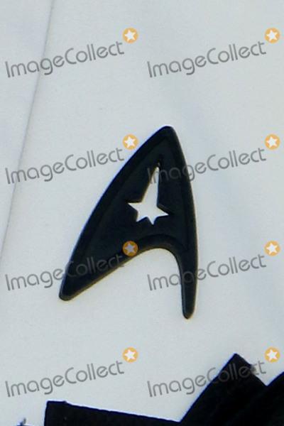 Anton Yelchin Photo - LOS ANGELES - JUL 20  Simon Peggs Black Starfleet delta badge worn in tribute to Anton Yelchin at the Star Trek Beyond World Premiere at the Embarcadero Marina on July 20 2016 in San Diego CA