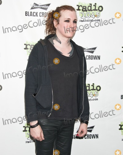 Against Me Photo - BALA CYNWYD PA - MAY 06 Laura Jane Grace of American Alternative Rock Band Against Me Poses at Radio 1045s Performance Theatre on May 06 2014 in Bala Cynwyd Pennsylvania (Photo by Paul J FroggattFamousPix)