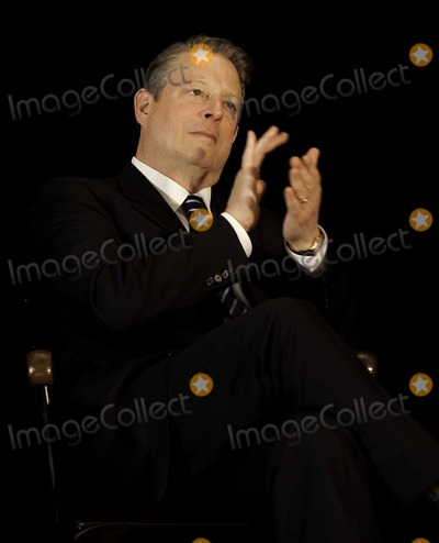 Al Gore Photo - Boston MA March 30 2009Former Vice President Al Gore speaks at the announcement of the Climate Action Leadership Committee at Boston Latin SchoolDigital photo by Lynne Cossever-PHOTOlinknet