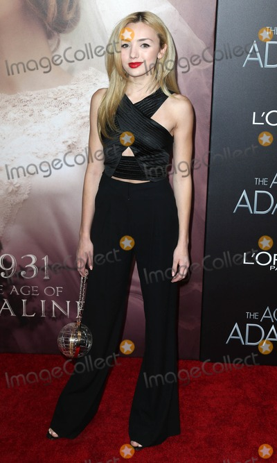 Peyton List Photo - Photo by KGC-146starmaxinccomSTAR MAX2015ALL RIGHTS RESERVEDTelephoneFax (212) 995-119641915Peyton List at the premiere of The Age of Adaline(NYC)