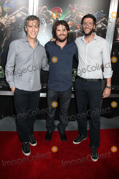 Andrew Form Photo - Photo by HQBstarmaxinccom2014ALL RIGHTS RESERVEDTelephoneFax (212) 995-11968614Brad Fuller Jonathan Liebesman and Andrew Form at the premiere of Teenage Mutant Ninja Turtles(NYC)