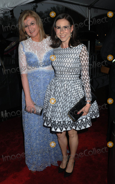 Arianna Huffington Photo - Photo by Demis MaryannakisstarmaxinccomSTAR MAX2017ALL RIGHTS RESERVEDTelephoneFax (212) 995-119642517Arianna Huffington and Callie Schweitzer at Time 100 in New York City