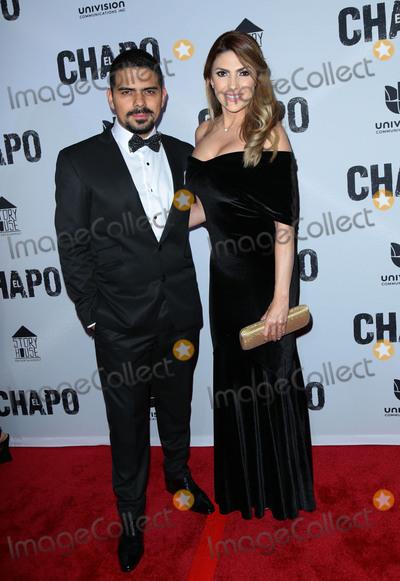 Alejandro Aguilar Photo - Photo by gotpapstarmaxinccomSTAR MAXCopyright 2017ALL RIGHTS RESERVEDTelephoneFax (212) 995-119641917Alejandro Aguilar and Ana Karina Soto at the premiere of El Chapo(Los Angeles CA)