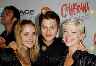 Aimee-Lynn Chadwick Photo - HOLLYWOOD CA - SEPTEMBER 15 Actress Aimee Lynn Chadwickactor Keram Malicki Sanchez and actress Jessica Suger Kiper at the World Premiere of Chillerama at Hollywood Forever Cemetary on September 15 2011  in Hollywood California  (Albert L OrtegaImageCollectcom)