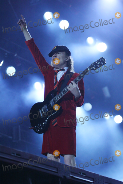 Angus Young Photo - Guitar player ANGUS YOUNG ACDC-concert Hamburg Volksparkstadion 26052016