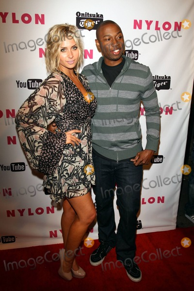 Robbie Jones Photo - Actors Alyson Michalka and Robbie Jones arrive at NYLON Magazines party celebrating their annual Young Hollywood Issue presented by Onitsuka Tiger and YouTube at Bardot Hollywood in Los Angeles CA 5411
