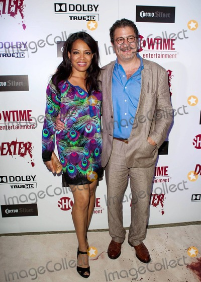Lauren Vélez with cool, Husband Mark Gordon
