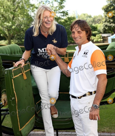 Andrea Vianini Photo - Jodie Kidd and boyfriend Andrea Vianini launch MINT Polo in the Park at The Hurlingham Club in London UK 51011