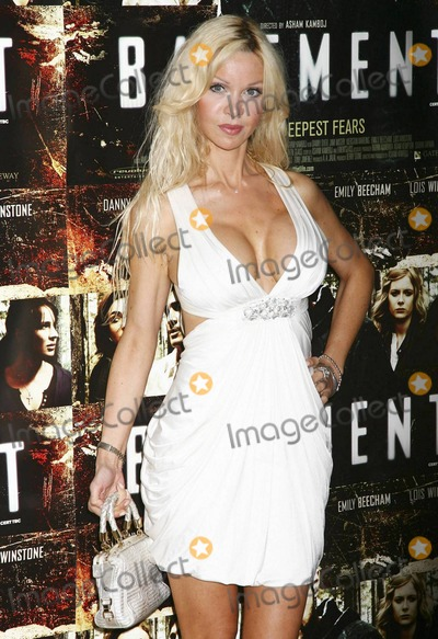 Alicia Douvall Photo - Alicia Douvall poses after arriving at The Mayfair Hotel for the UK premiere of the horror film Basement written by Irish writer Ewen Glass London UK 081710