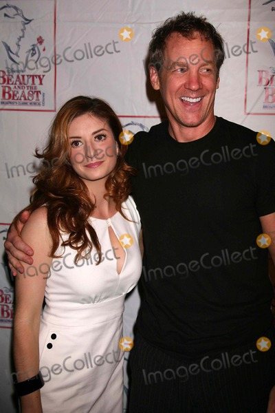 Anneliese van der Pol Photo - Anneliese Van Der Pol and Steve Blanchard Arriving at the Party to Celebrate the Final Performance of Disneys Beauty and the Beast at Cipriani 42nd Street in New York City on 07-29-2007 Photo by Henry McgeeGlobe Photos Inc 2007